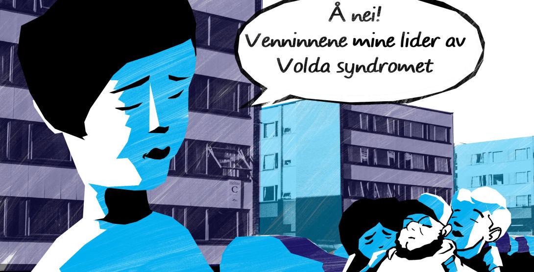 Voldasyndrom Med tekst