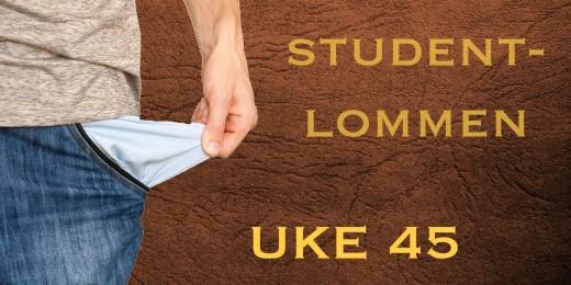 Studentlommen-UKE45