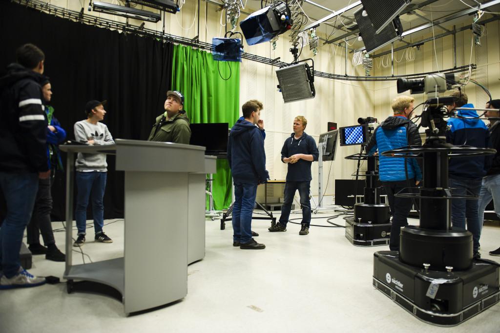MID-linja får ikke bruke noen av mediefasilitetene på Strøm-bygget, deriblant TV-studioet.